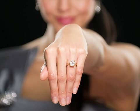 Would You Be Pissed If You Didn't Get a Diamond Engagement Ring?