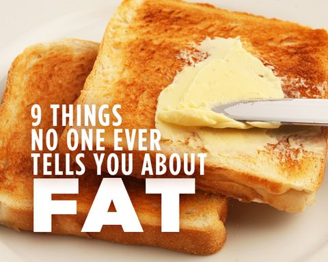 9 Things No One Ever Tells You About Fat