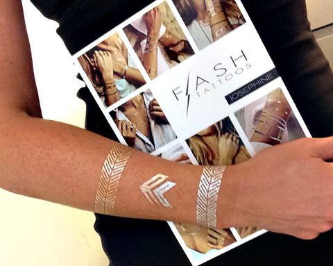 What ARE Flash Tattoos? And Other FAQs About the Awesome Jewelry-Inspired Temporary Tats