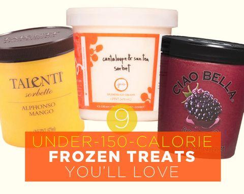 9 Under-150-Calorie Frozen Treats You'll Love
