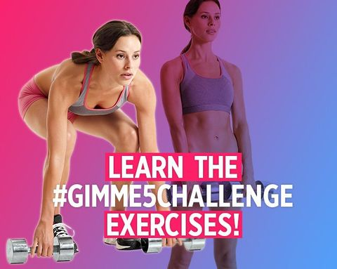 Take the #Gimme5Challenge to Strengthen Your Body with Just Five Basic Moves