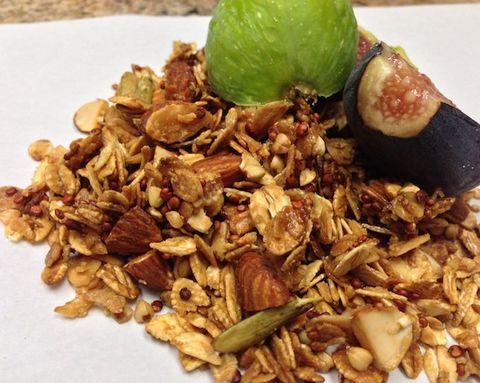 Fuel Your Fitness: Cocoa Nib and Acai Granola