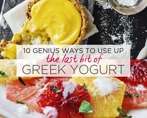 10 Genius Ways to Use Up the Last Bit of Greek Yogurt