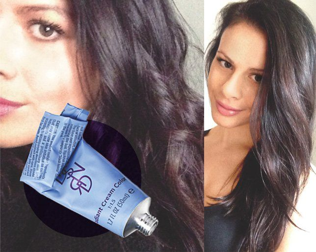 How To Dye Your Own Hair To Get A Dark Rich Brunette Color