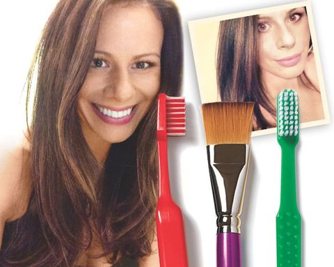 6 tips for giving yourself incredible at home hair highlights hair highlights solutioingenieria