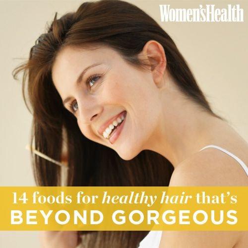 14 Foods for GORGEOUS Healthy Hair