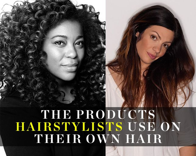 The Products Hairstylists Use on Their Own Hair