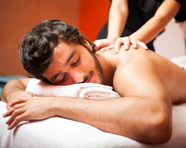 Happy Ending massage salon porno