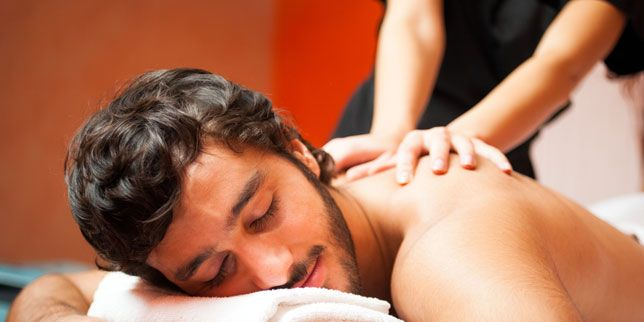What if you get an erection during a massage