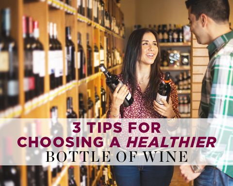 3 Tips for Choosing a Healthier Bottle of Wine