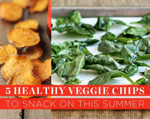 5 Healthy Veggie Chips to Snack on This Summer