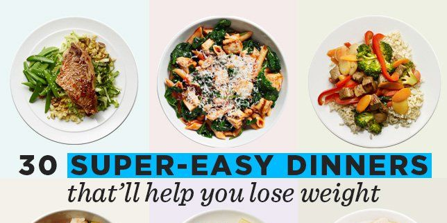 30 super easy healthy dinner recipes for weight loss forumfinder Image collections