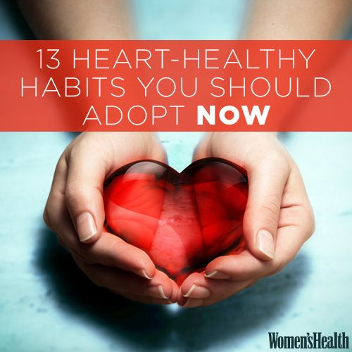13 Habits You Need to Lock Down NOW to Keep Your Heart Healthy LATER
