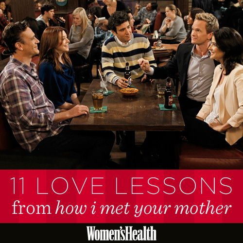 11 Love Lessons from How I Met Your Mother