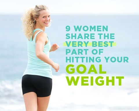 9 Women Share the Very Best Part of Hitting Your Goal Weight