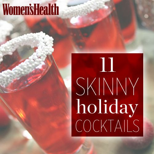 11 Skinny Holiday Cocktails