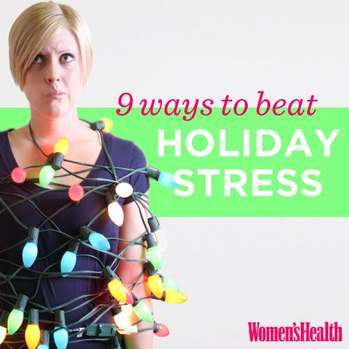 9 Ways to Beat Holiday Stress