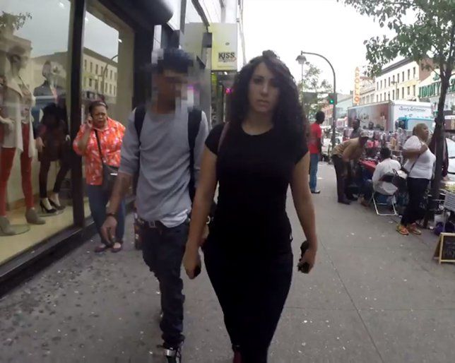 This Video Documenting a Woman Being Street Harassed is Seriously Disturbing