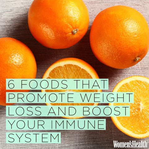 6 Foods That Promote Weight Loss AND Boost Your Immune System