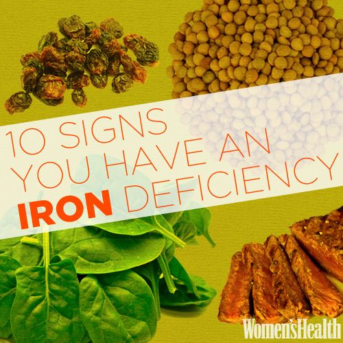 10 Signs You Have an Iron Deficiency