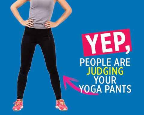 4efd4cbbad9a11 7 Things People Assume About You When You Wear Yoga Pants