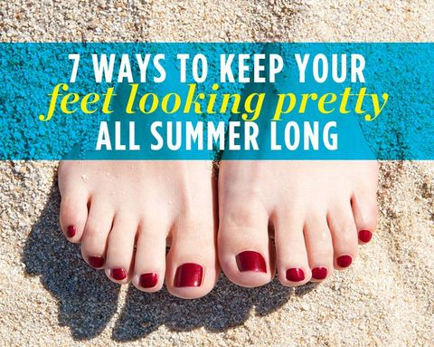 7 Ways to Keep Your Feet Looking Pretty All Summer Long