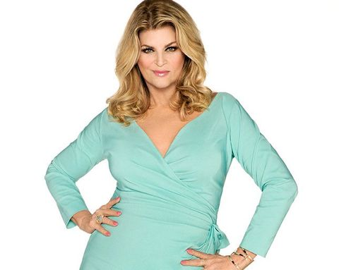 """Kirstie Alley: """"Just Because You're Skinny Doesn't Mean You're Happy"""""""