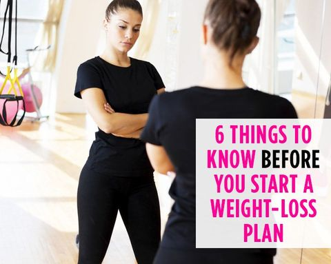 6 Things Weight-Loss Experts Want You to Know BEFORE You Start Trying to Drop Pounds