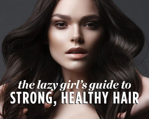 The Lazy Girl's Guide to Strong, Healthy Hair