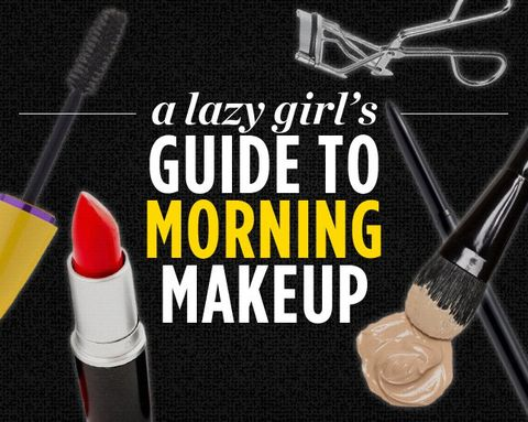 A Lazy Girl's Guide to Morning Makeup