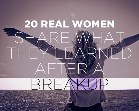 20 Real Women Share What They Learned After a Breakup