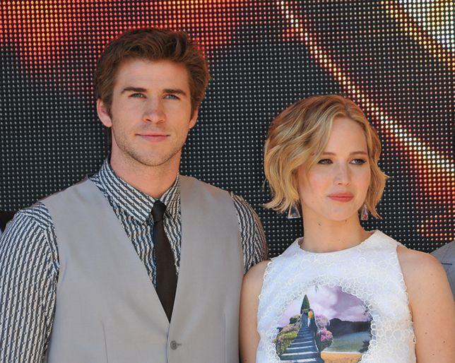 Jennifer Lawrence en Liam Hemsworth dating OK Magazine