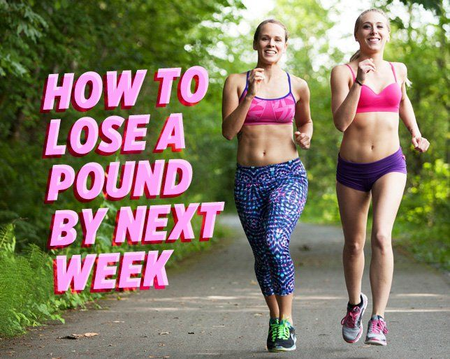 How to Lose a Pound By Next Week