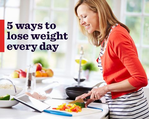 5 Ways to Lose Weight Every Day