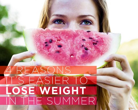 4 Reasons It's Easier to Lose Weight in the Summer