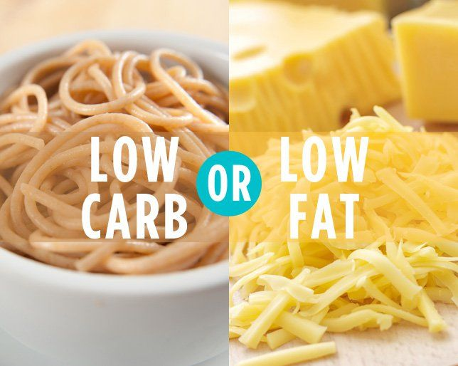 Which is Better for Weight Loss: Low-Carb or Low-Fat?