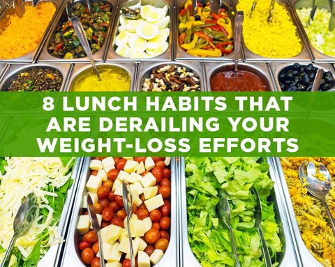 8 Lunch Habits That Are Derailing Your Weight-Loss Efforts