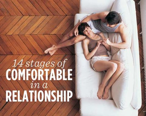 14 Stages of Comfortable in a Relationship
