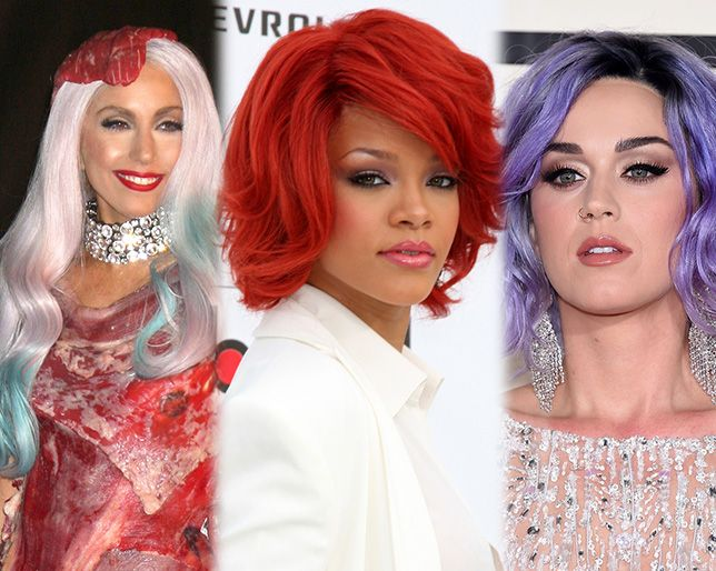 The United Colors of Celebrity Hair: An Infographic