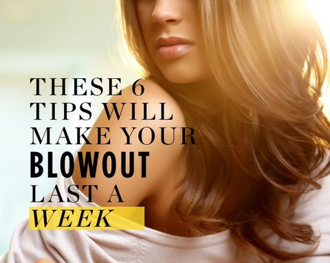 These 6 Tips Will Make Your Blowout Last a Week