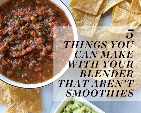 5 Things You Can Make with Your Blender That Aren't Smoothies
