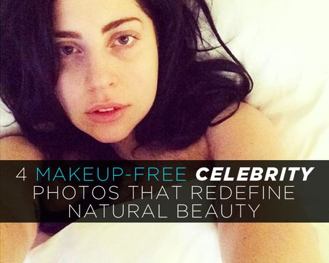 4 Makeup-Free Celebrity Photos That Redefine Natural Beauty