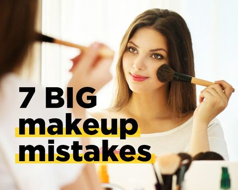 7 Makeup Mistakes You're Making