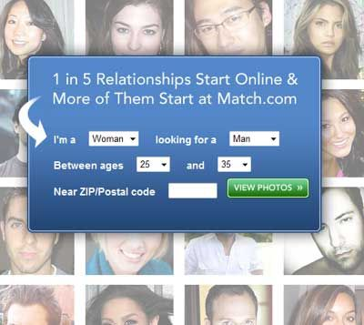 online dating without zip code