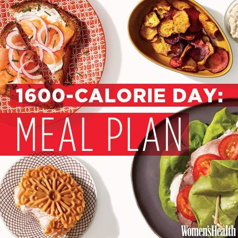 Flat-Belly Meal Plan: Breakfast, Lunch, Dinner and Two Snacks for Under 1,600 Calories