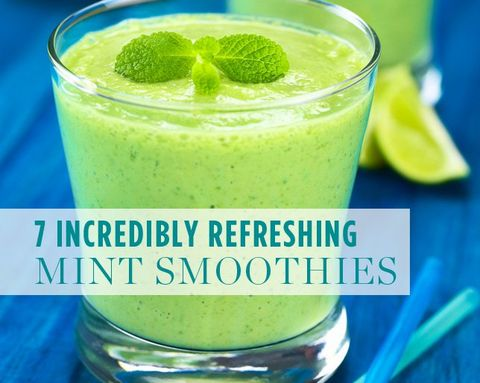 7 Incredibly Refreshing Mint Smoothies