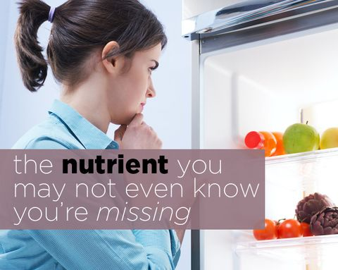 The Nutrient You May Not Even Know You're Missing