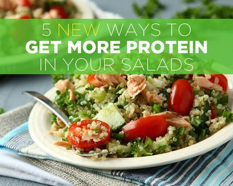5 New Ways to Get More Protein in Your Salads
