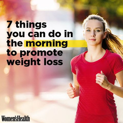 7 Things You Can Do in the Morning to Promote Weight Loss