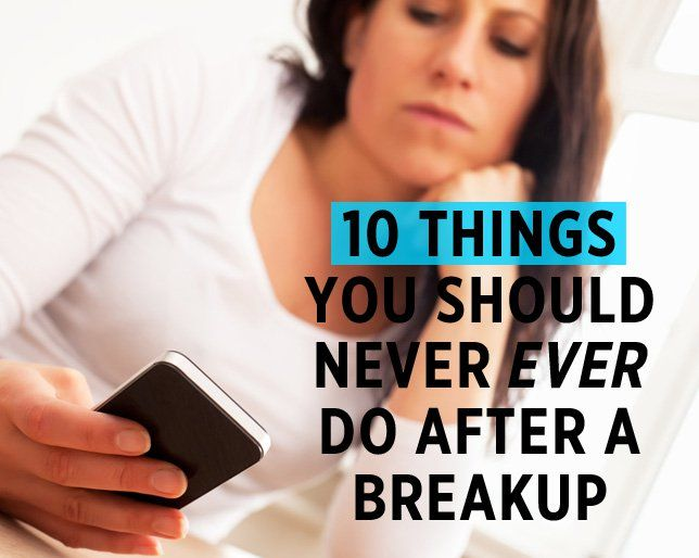 How to begin hookup after a breakup